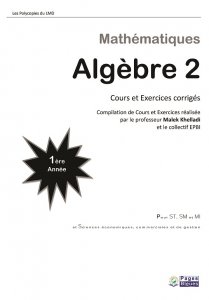 algebre-2-algebre-lineaire-1ere-annee-lmd